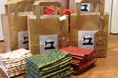 Stocking packs and fat quarters